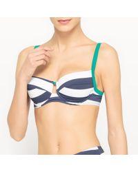 La Redoute - Minimiser Bikini Top - Lyst