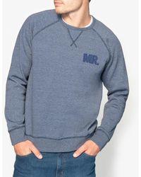 La Redoute - Crew Neck Sweatshirt With Boucle Motif - Lyst