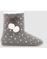 La Redoute - Fur-lined Bootees - Lyst