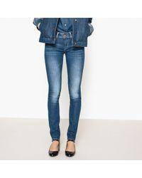 La Redoute · Pepe Jeans - New Brooke Slim Fit Jeans - Lyst 885c15b5b171
