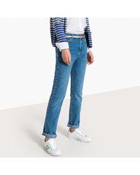 "La Redoute - Patch Pocket High Waist Jeans, Length 31"" - Lyst"