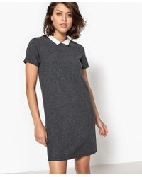 School Rag - Short-sleeved Knee-length Dress - Lyst