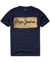 Pepe Jeans - Charing T-shirt With Printed Motif - Lyst