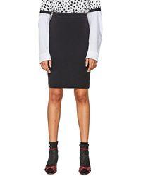 Esprit - Short Printed Pencil Skirt - Lyst