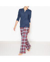La Redoute - Checked Pyjama Set - Lyst