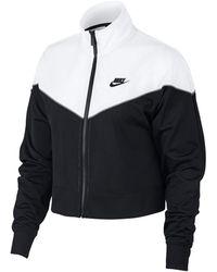 Nike - Chaqueta con cremallera Sportswear AT3908-010 - Lyst