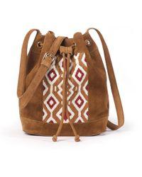 La Redoute - Suede Bucket Bag - Lyst