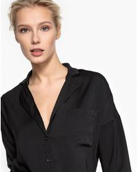 LA REDOUTE | Flowing Shirt With Tailored Collar | Lyst