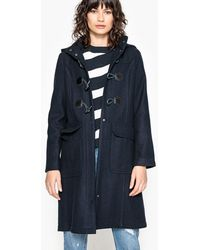 La Redoute - Hooded Duffle Coat 50% Wool - Lyst