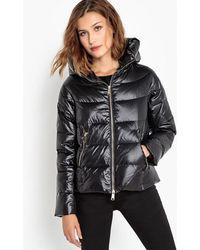 School Rag - Short Hooded Padded Jacket - Lyst
