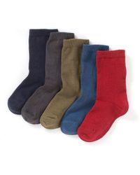 La Redoute - Pack Of 5 Pairs Of Plain Ankle Socks - Lyst