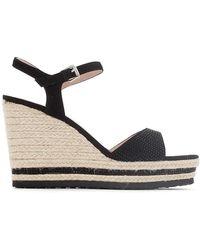 CafeNoir - Hg933 Wedge Sandals - Lyst