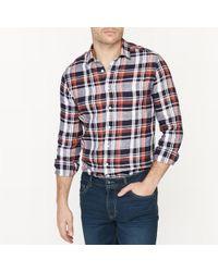 La Redoute - 100% Linen Straight Cut Shirt - Lyst