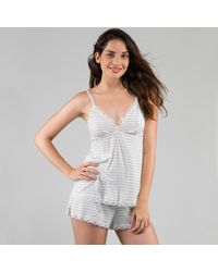 DORINA - Romy Short Pyjamas, Camisole Top With Lace Trim - Lyst