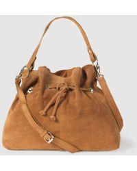 La Redoute - Soft Leather Bucket Bag - Lyst