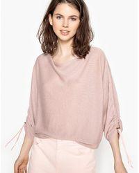 La Redoute - Loose Batwing Sleeve Jumper/sweater - Lyst