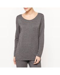 La Redoute - Long-sleeved Pyjama Top - Lyst