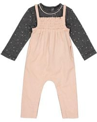 La Redoute - 2-piece Outfit, Dungarees + T-shirt, 1 Month-3 Years - Lyst