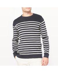 La Redoute - Organic Cotton Breton Jumper/sweater - Lyst