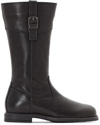 La Redoute - Leather Boots, Sizes 30-39 - Lyst