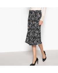 La Redoute - Midi Skirt - Lyst