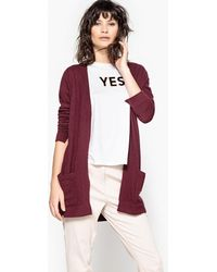 La Redoute - Long-sleeved Open Cardigan - Lyst