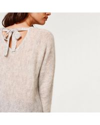Esprit - Stranded Knit Jumper/sweater With Low Back - Lyst