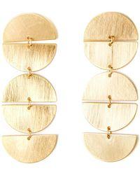 La Redoute - Metal Earrings - Lyst