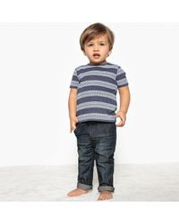 La Redoute - Pack Of 2 Striped T-shirts, 1 Month-3 Years - Lyst