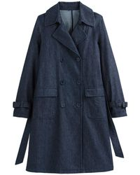 La Redoute - Trench largo de denim - Lyst