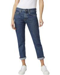 La Redoute · Pepe Jeans - Mable Boyfriend Jeans - Lyst 30f0d96ec78b