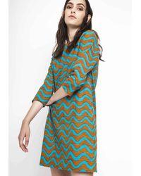 Compañía Fantástica | Mini Dress With 3/4 Length Sleeves | Lyst