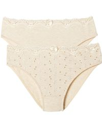 La Redoute - Pack Of 2 Sylphide Briefs - Lyst