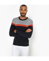 La Redoute - Crew Neck Chunky Knit Jumper/sweater - Lyst