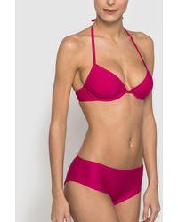 La Redoute - Mix And Match Plain Underwired Triangle Bikini Top - Lyst
