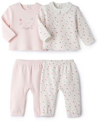 La Redoute - Pack Of 2 Fleece 2-piece Pyjamas, Birth-3 Years - Lyst
