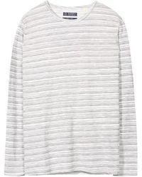 Esprit - Striped Crew Neck T-shirt - Lyst