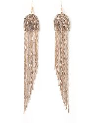 La Redoute - Metal Earrings - Lyst