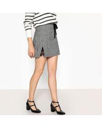 Suncoo - Festina Prince Of Wales Check Mini Skirt - Lyst