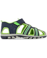 La Redoute - Sandals With Fluorescent Detail - Lyst