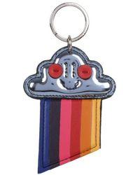 Stella McCartney   Rainbow Cloud Pewter Keyring   Lyst