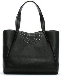 Love Moschino - Bruno Black Shopper Tote Bag - Lyst
