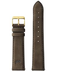 Larsson & Jennings - Brown Leather Strap By . Swiss Made - Lyst
