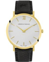Larsson & Jennings - Lugano Sloane Leather - Lyst