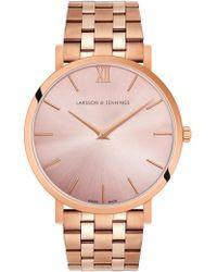 Larsson & Jennings - Lugano Solaris 5 Link 40mm - Lyst