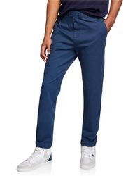 Original Penguin - Men's Tapered-fit Tonal Check Stretch Pants - Lyst