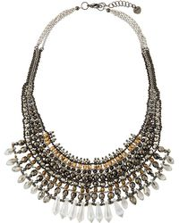 Nakamol - Crystal Statement Necklace - Lyst