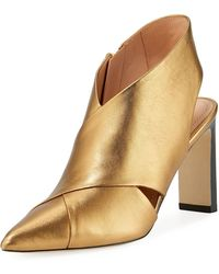 Sigerson Morrison - Halima Pointy-toe Patent Pump - Lyst