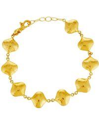 Gurhan - Clove 24k All-around Puff Bracelet - Lyst