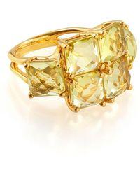 Ippolita - 18k Rock Candy® Square Six-stone Ring - Lyst